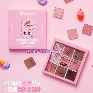 韓國 Korea Lilybyred x Esther Bunny Eyeshadow 眼影盤