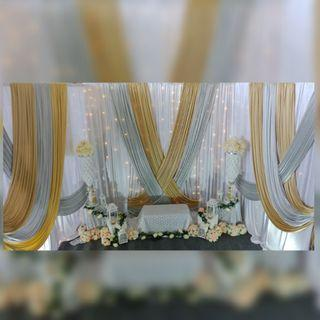 Wedding Dais/ Pelamins, Solemnisation, Engagements decor