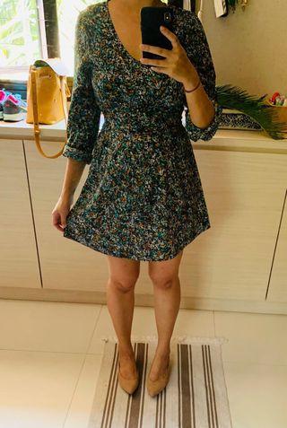 🚚 Gorgeous Printed Long Sleeved Mini Dress
