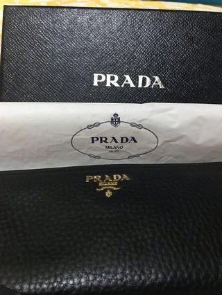 Prada Long Wallet with original box