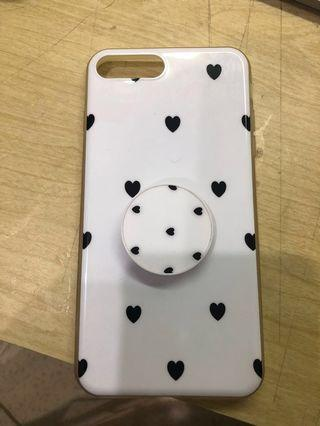 Iphone 8+ / 7+ case with pop socket