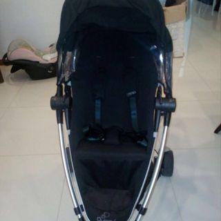 Quinny Stroller with infant car seat