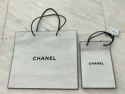 CHANEL authentic paperbags