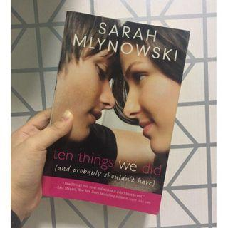 [REPRICED] Ten Things We Did by Sarah Mlynowski