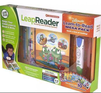 Leap Frog 點讀電子筆套裝連10本書
