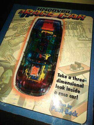 Uncover a race car book