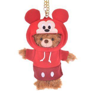 現貨 Disney Japan 日本迪士尼 Mickey Mouse 米奇 公仔衫 uniBEARsity匙扣公仔 nuiMOs 可通用