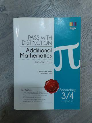 🚚 Pass with distinction (Add. Math)