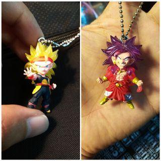 (ALL)Dragonball keychain Gashapon figure Goku bandai banpresto Nike Adidas IKEA old note old coin