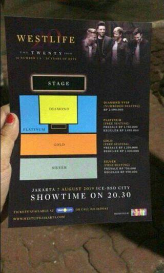Westlife concert jakarta