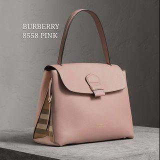 Burberry Grainy Medium Bag Pink