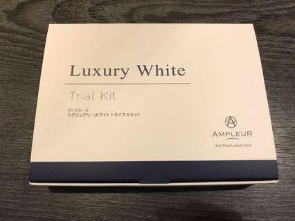 💕Ampleur Luxury White Trial Set 經典美白套裝