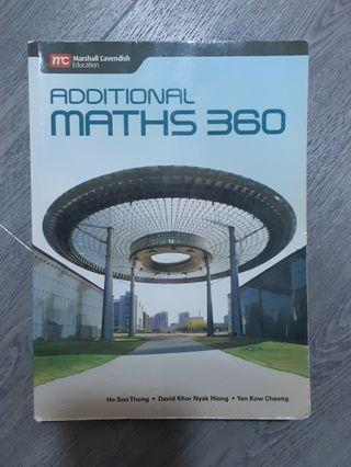 🚚 Additional Maths 360 Textbook