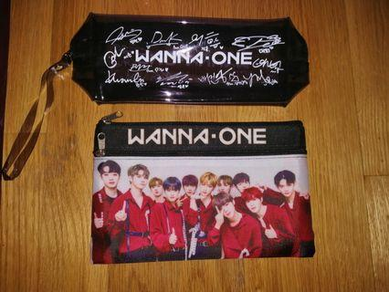 [SALE] Wanna One group signature pencil case