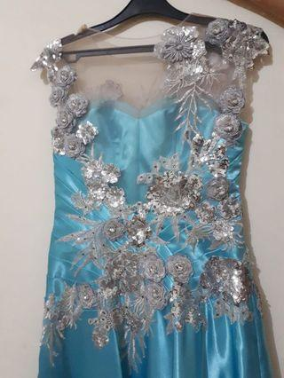 Cheap Party Dress in Blue