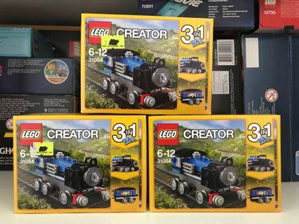 LEGO 31054 Blue Express x 3boxes