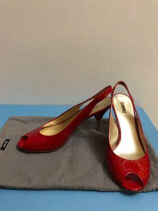Miumiu heels 98% new ironman
