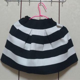 🚚 黑白條紋裙