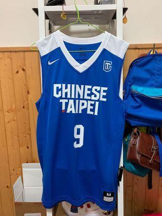 🚚 Nike CHINESE TAIPEI 籃球衣