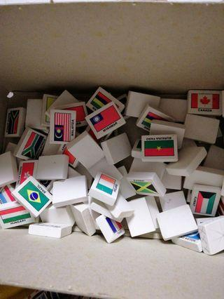 🚚 Country Erasers