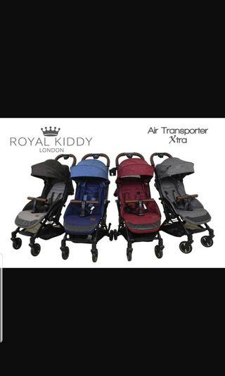 (Brand New) Royal Kiddy London- Air Transporter Xtra, Light weigh, compact cabin size stroller