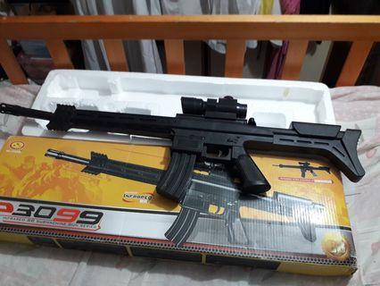 M416 全膠制 個盒有D舊 手拉,無連射 6.MM BB殫