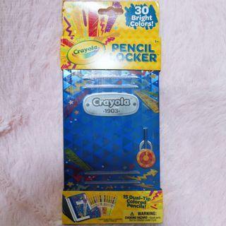 🚚 Crayola color pencil locker