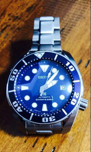 🚚 Seiko Blue Sumo SBDC033