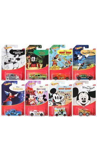Hotwheels Disney not Tomica Tiny Tomy Takara