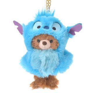 現貨 Disney Japan 日本迪士尼 stitch 史迪仔 公仔衫 uniBEARsity匙扣公仔 nuiMOs 可通用