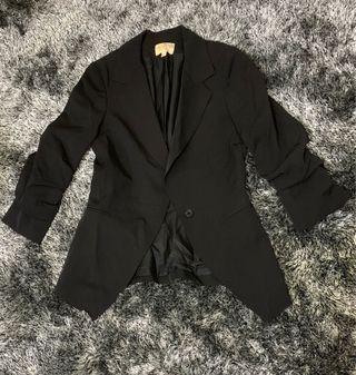 Black Blazer - Fits XS- S body frame, bought in HK