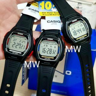 Casio original kids resin digital watch lw201 brand new