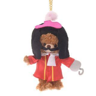 現貨 Disney Japan 日本迪士尼 Hook 鐵鈎船長 公仔衫 uniBEARsity匙扣公仔 nuiMOs 可通用