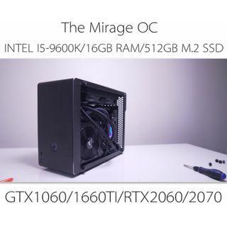 INTEL I5-9600K  LIQUID COOLING SMALL FORM FACTOR OC GAMING CUSTOM DESKTOP PC WITH GTX1060/1660TI/RTX2060/2070(BUILD TO ORDER)