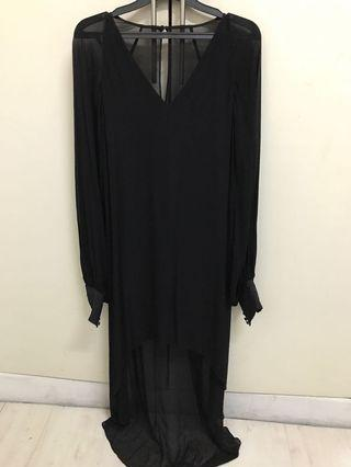 Forever New - black evening dress size 4