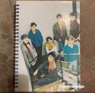 GOT7 Unofficial Notebook