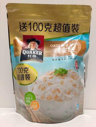 桂格燕麥飯 700克超值裝