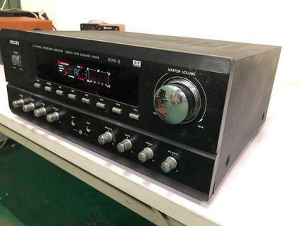 Amplifier with karaoke