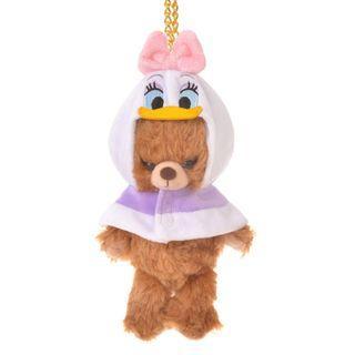 現貨 Disney Japan 日本迪士尼 Daisy Duck 黛絲 公仔衫 uniBEARsity匙扣公仔 nuiMOs 可通用
