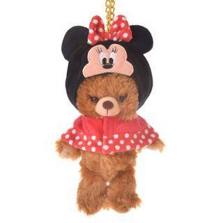 現貨 Disney Japan 日本迪士尼 Minnie Mouse 米妮 公仔衫 uniBEARsity匙扣公仔 nuiMOs 可通用