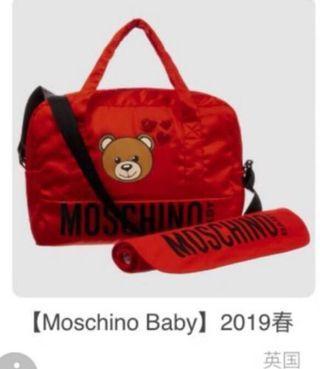 🚚 Moschino 媽媽包旅行袋