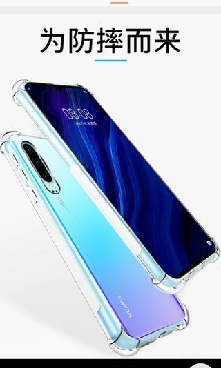 Huawei P30 transparent soft case-free gift #GSS