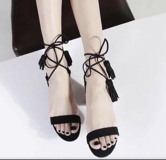 全新涼鞋(杏色)