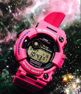 🚚 New Authentic Japan JDM edition Casio G-Shock Men In Sunrise Purple Frogman E. GWF-1000SR-4JF MB6 Watch Japan made