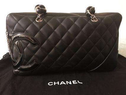 💯真品Chanel黑色手袋