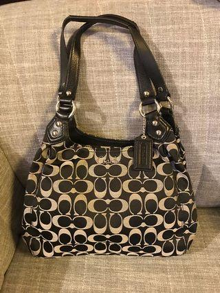 Coach bag - 80% new