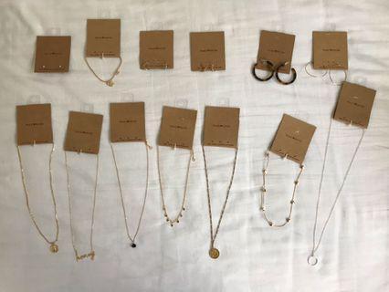 🚚 Brandy Melville Necklaces Bracelets Earrings