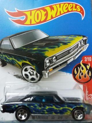 Hot wheels 67 Chevelle SS 396