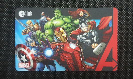 Marvel Ezlink Card #EndgameYourExcess