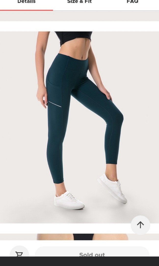 eed8a9c37cf53 42race Yoga Pants Tights Activewear, Sports, Sports Apparel on Carousell